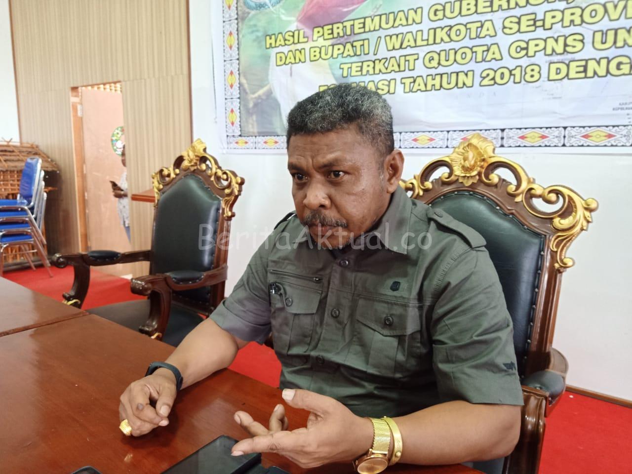 Maxi Ahoren Tolak 26 Orang 'Siluman' CPNS Masuk di MRP Papua Barat 1 IMG 20200813 WA0046