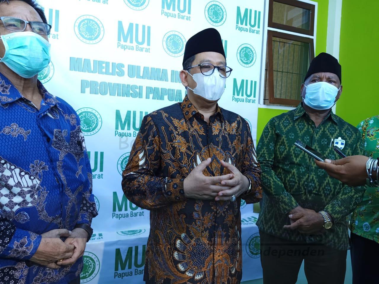 Wakil Menteri Agama Puji Gubernur Mandacan Bisa Jaga Toleransi Umat Beragama 1 IMG 20200821 WA0032