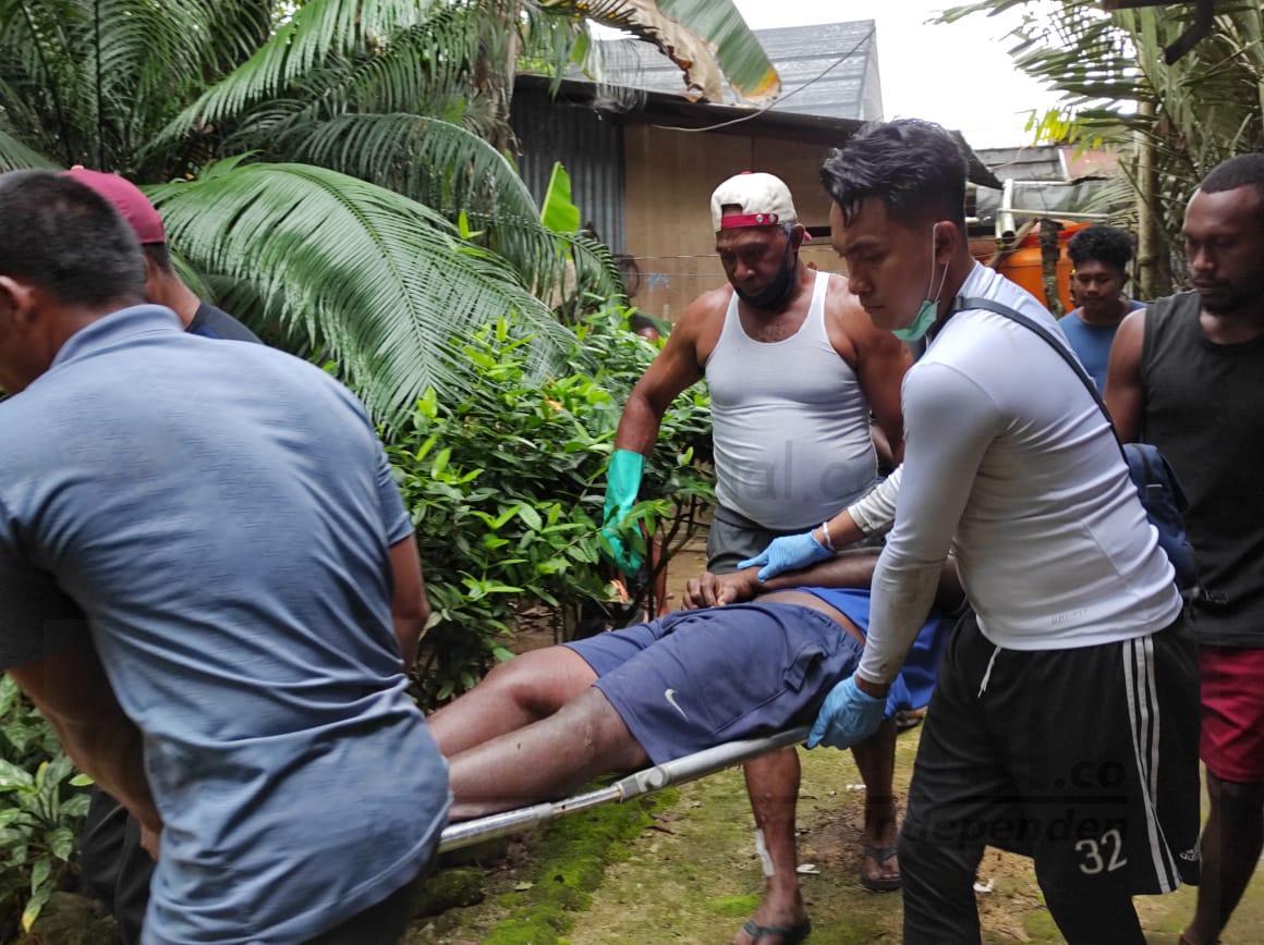 Warga KM 12 Kota Sorong Geger, Pria Ini Ditemukan Tergantung Diatas Pohon 10 IMG 20200823 WA0016