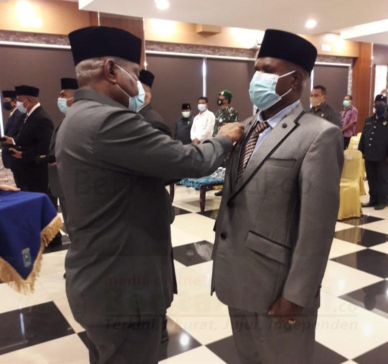 Lantik 5 Penjabat Bupati, Ini Pesan Gubernur Papua Barat 15 20200926 185049