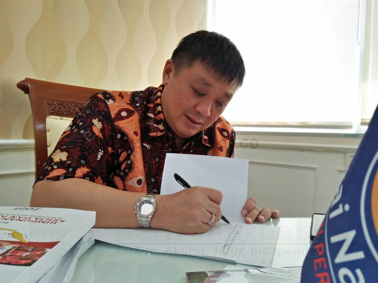 Rico Sia Apresiasi Semangat Menteri BUMN Kelola Lahan Freeport Yang Dikembalikan ke Negara 1 IMG 20200825 WA0000