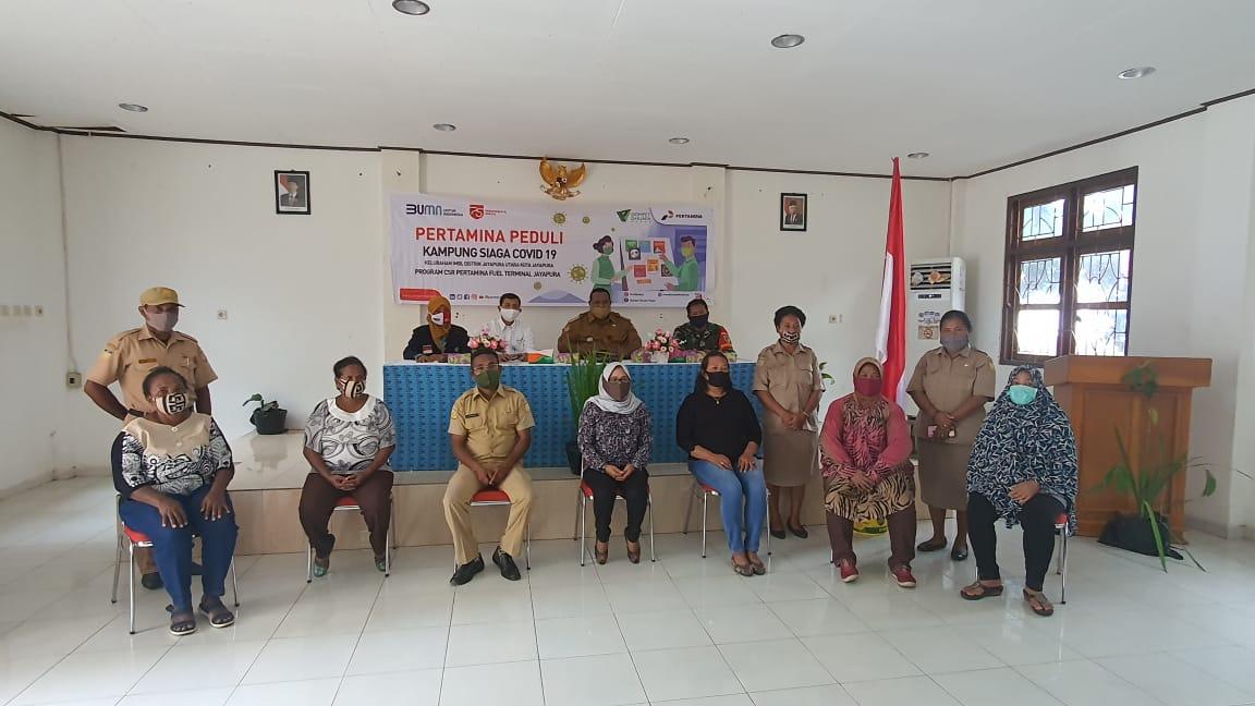 Dukung New Normal, Pertamina Resmikan Kampung Siaga Covid-19 di Kelurahan Imbi Jayapura 2 IMG 20200901 WA0004