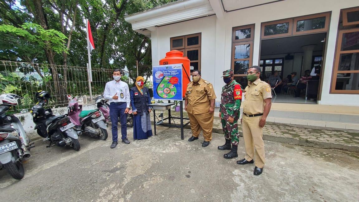 Dukung New Normal, Pertamina Resmikan Kampung Siaga Covid-19 di Kelurahan Imbi Jayapura 26 IMG 20200901 WA0006