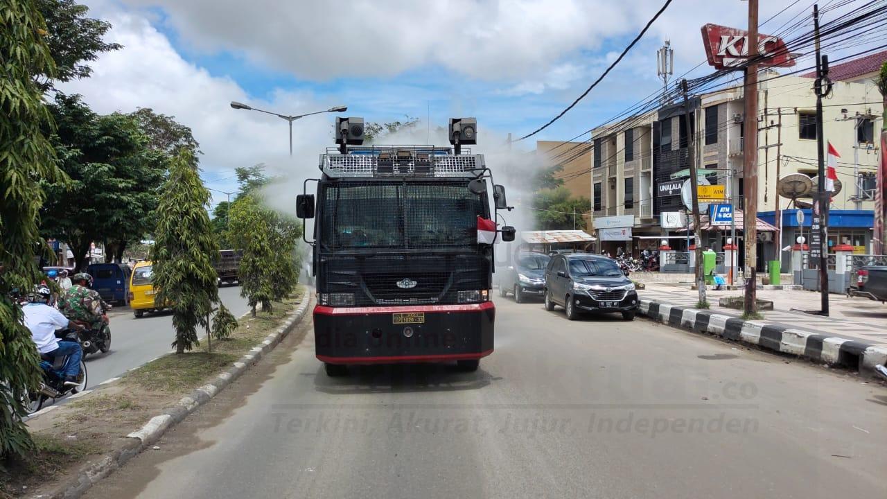 Polres Sorong Kota Kembali Semprotkan Desinfektan 3 IMG 20200902 WA0037