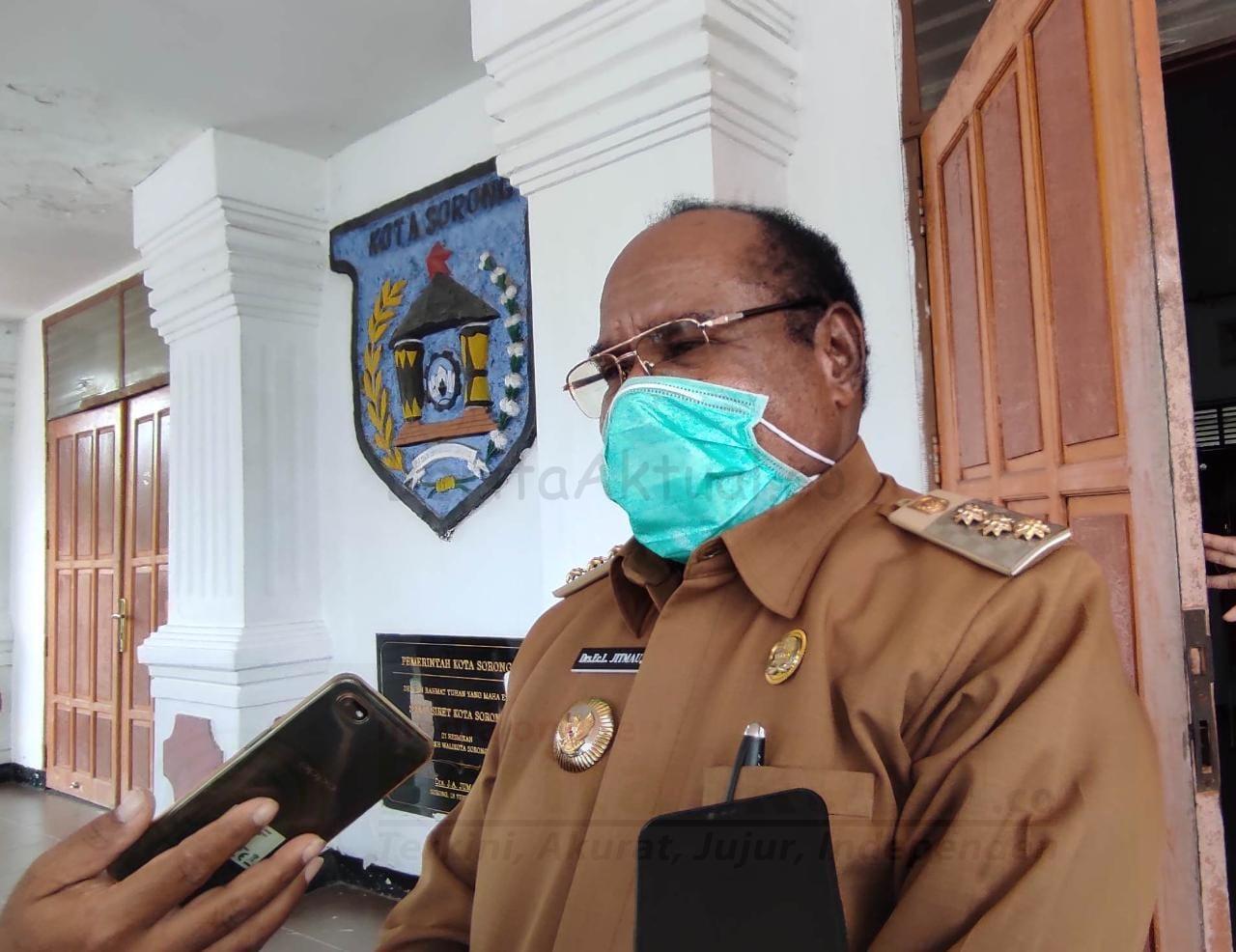 Bandara DEO Dan Pelabuhan Ditutup, Walikota Sorong: Itu Tidak Benar 3 IMG 20200908 WA0032