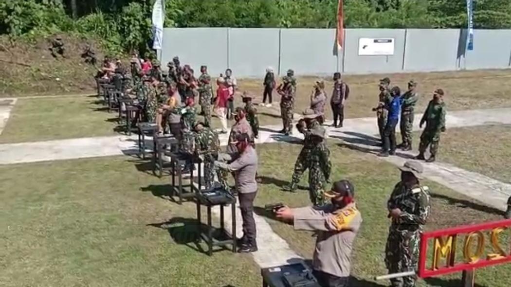 Jaga Kekompakan Antara TNI-Polri, Brimob Polda PB Gelar Lomba Menembak 1 IMG 20200908 WA0048