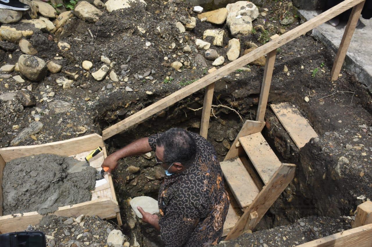 Letakan Batu Pertama Gereja di Sarbe, Bupati Bintuni: Ini Tanggung jawab Pemerintah 2 IMG 20200913 WA0022