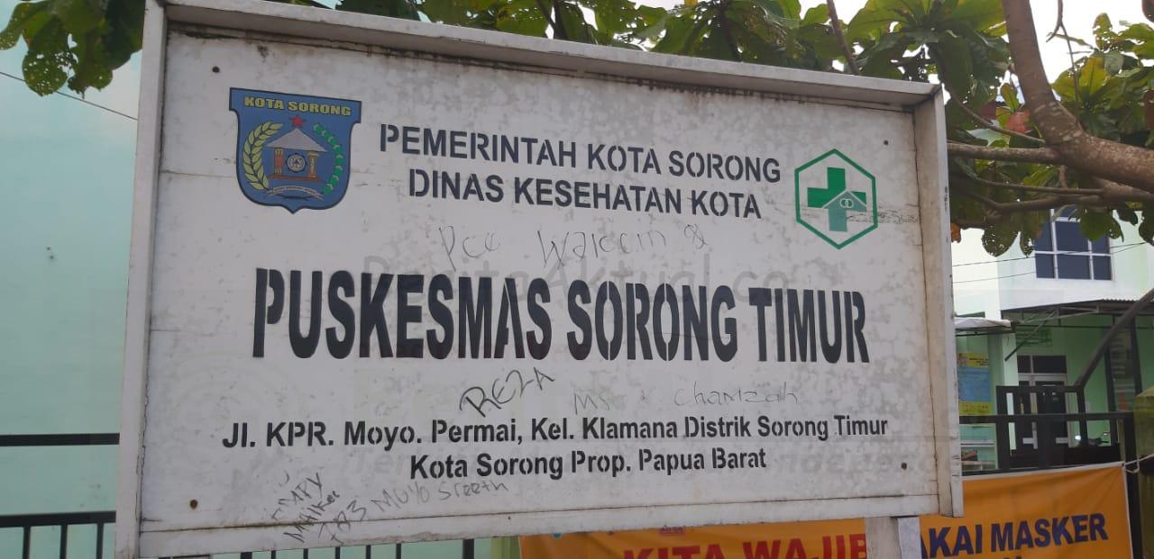 Tenaga Medis Positif Covid-19, 4 Puskesmas di Kota Sorong Ditutup 1 IMG 20200930 WA0044