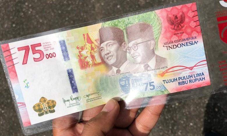 Uang Pecahan 75 Ribu Beredar, Kantor Perwakilan Bank Indonesia PB Percepat Penukaran 1 uang 75000