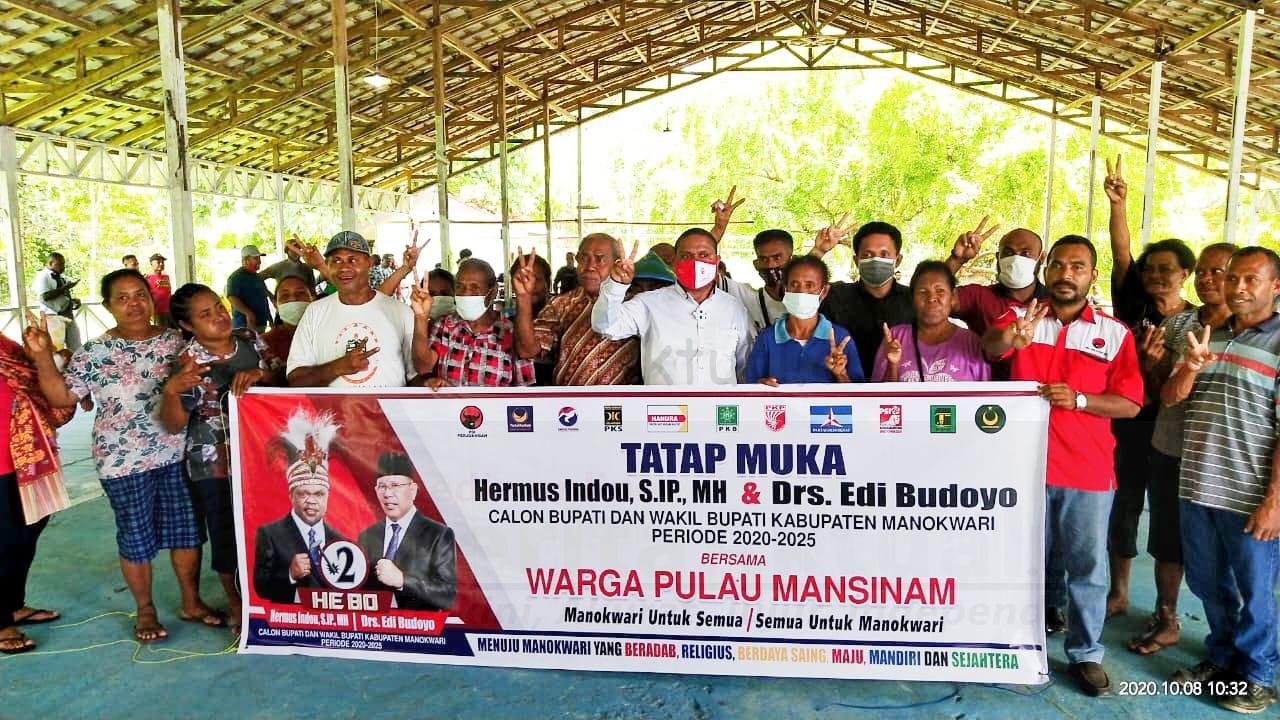 Hermus Indou: Semua Aspirasi Masyarakat Akan Dijadikan Materi Penyusunan Visi Misi 1 IMG 20201008 WA0021