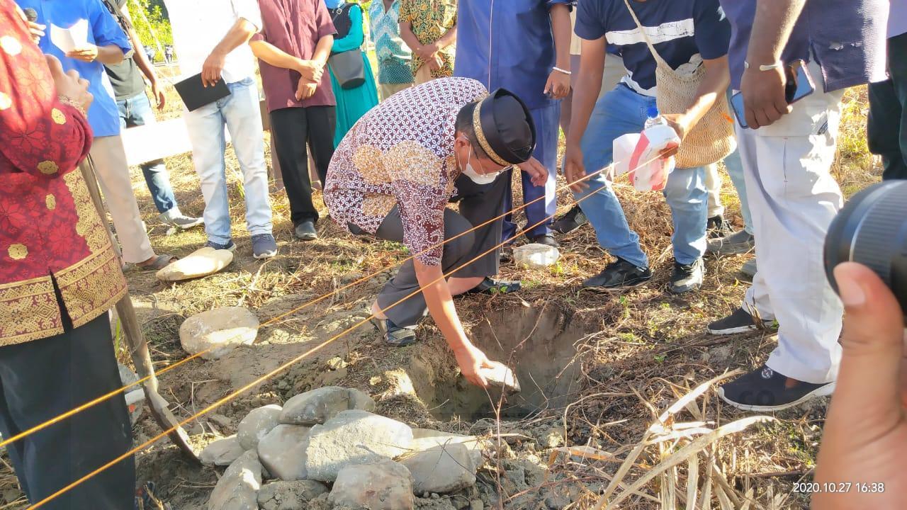 Letakan Batu Pertama Masjid Ar-Razzaq, Edi Budoyo: Hubungan Baik Antara Agama Harus Dijaga 1 IMG 20201028 WA0003