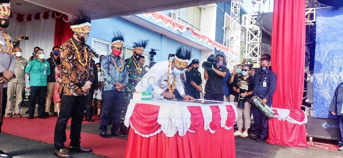 Gubernur: TVRI Papua Barat Hadir Sebagai Station ke 30, Bantu Masyarakat Dapatkan Informasi Terkini 1 IMG 20201028 WA0075