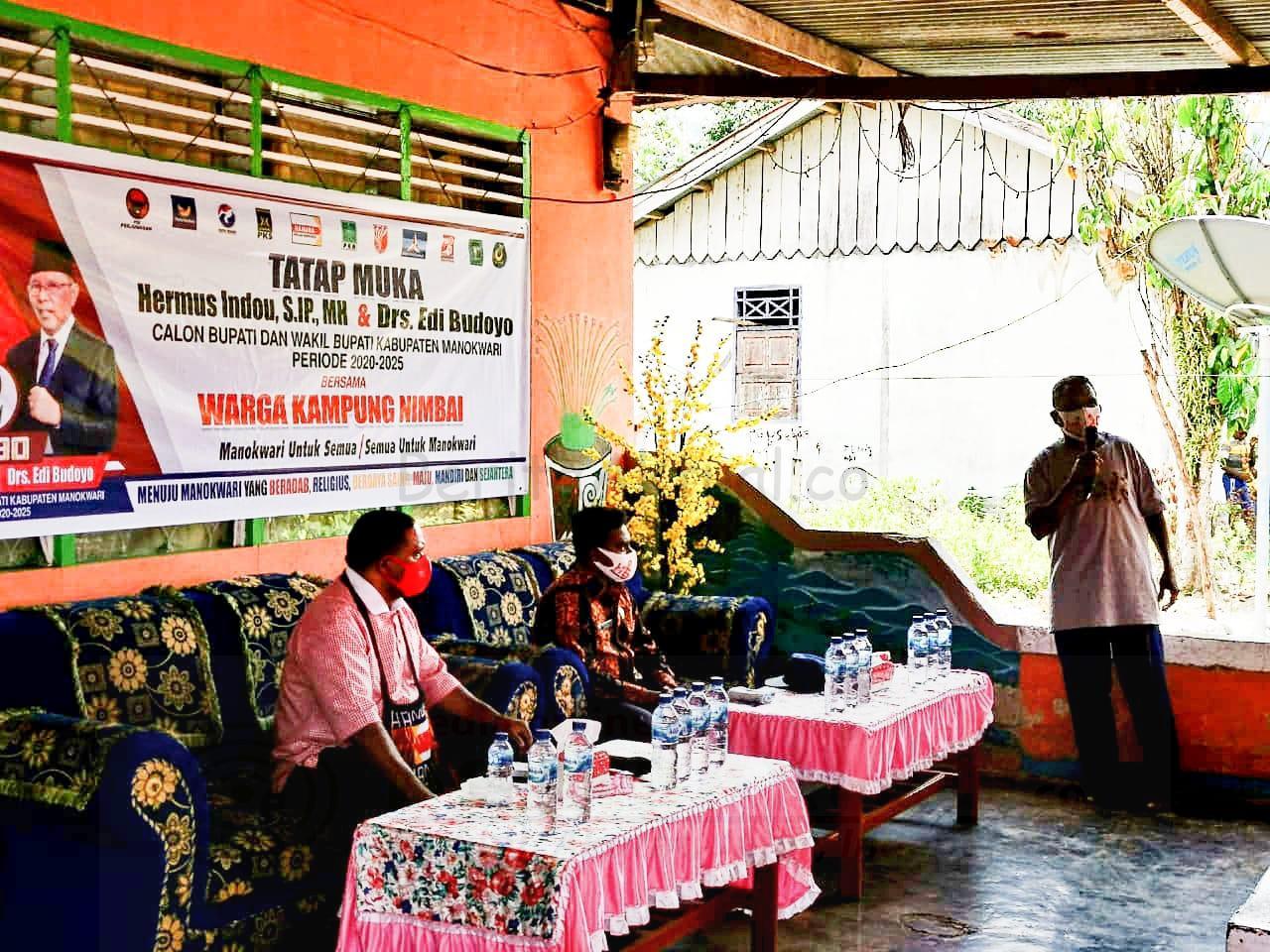 Hermus Indou: Pilih Paslon Membangun Masyarakat, Bukan Janji Dan Rupiah 2 IMG 20201031 WA0028 1