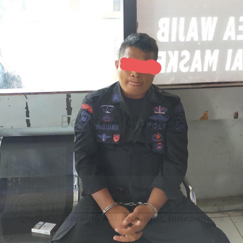 Pakai Baju Dinas Buat Gaya, Polsek Prafi Tangkap Anggota Brimob Gadungan 1 20201125 134251