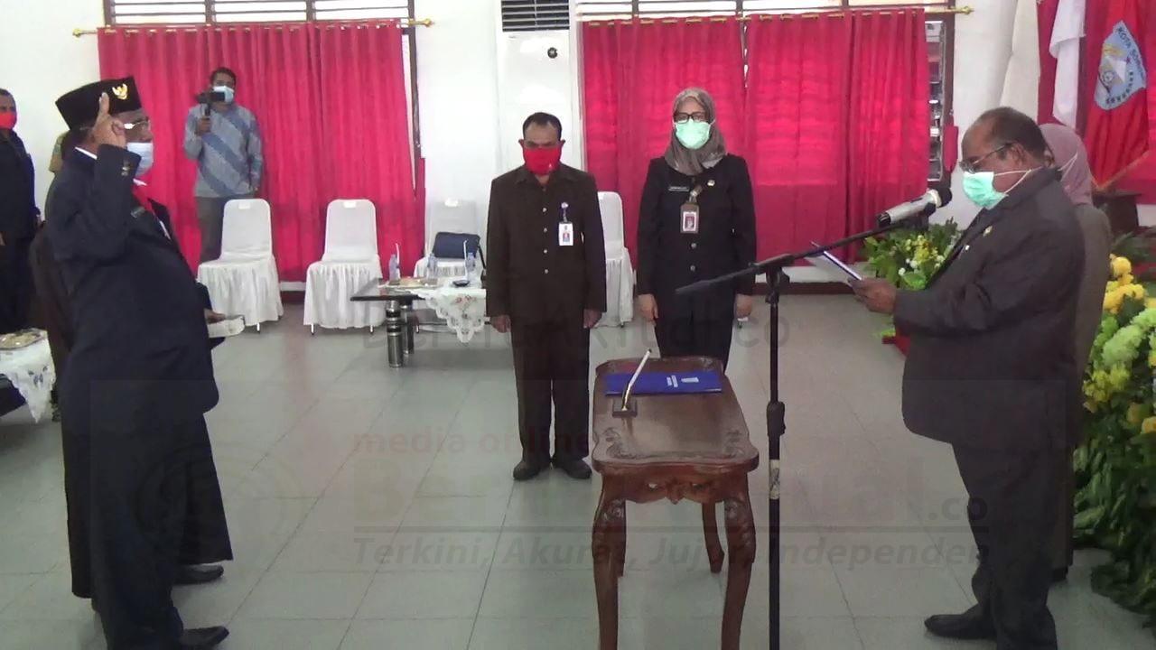 Ganti Welly Tigtigweria, Yakob Kareth Dilantik Jadi Sekda Kota Sorong 4 IMG 20201105 WA0021