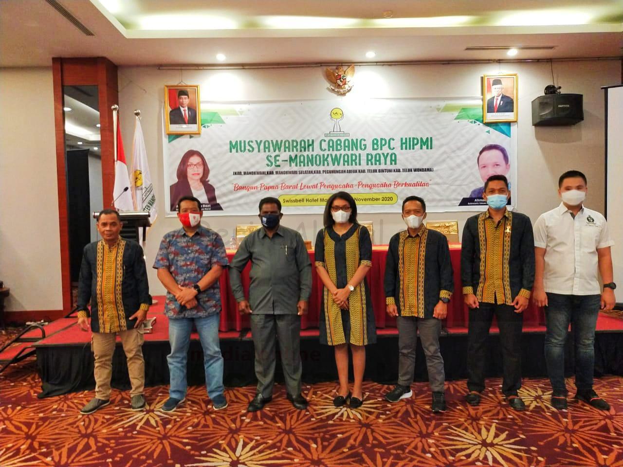 HIPMI Lahirkan Pengusaha Tularkan Kewirausahaan Untuk Generasi Muda di Papua Barat 1 IMG 20201107 WA0011