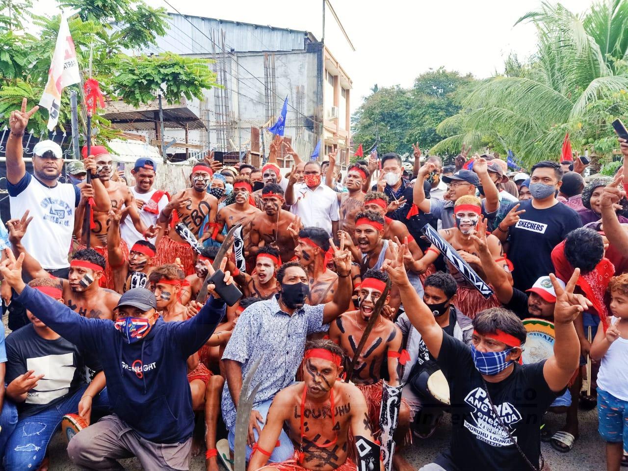 Warga Swapen Manokwari Sebut Paslon HEBO Pantas Menang Karena Merakyat 1 IMG 20201121 WA0023