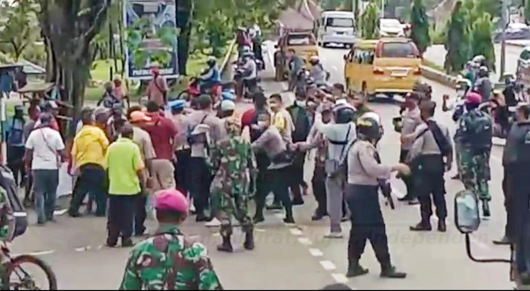 Terlibat Aksi HUT West Papua di Manokwari Dan Sorong, Polisi Amankan 36 Orang 16 IMG 20201127 WA0037