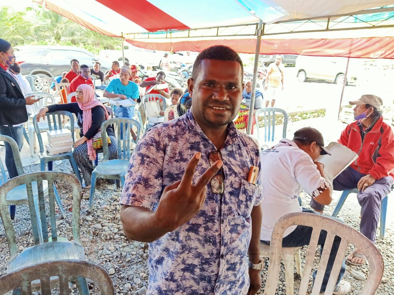 Filemon Wariki: 90 Persen Suara Suku Meyah Untuk HEBO 2 IMG 20201129 WA0039