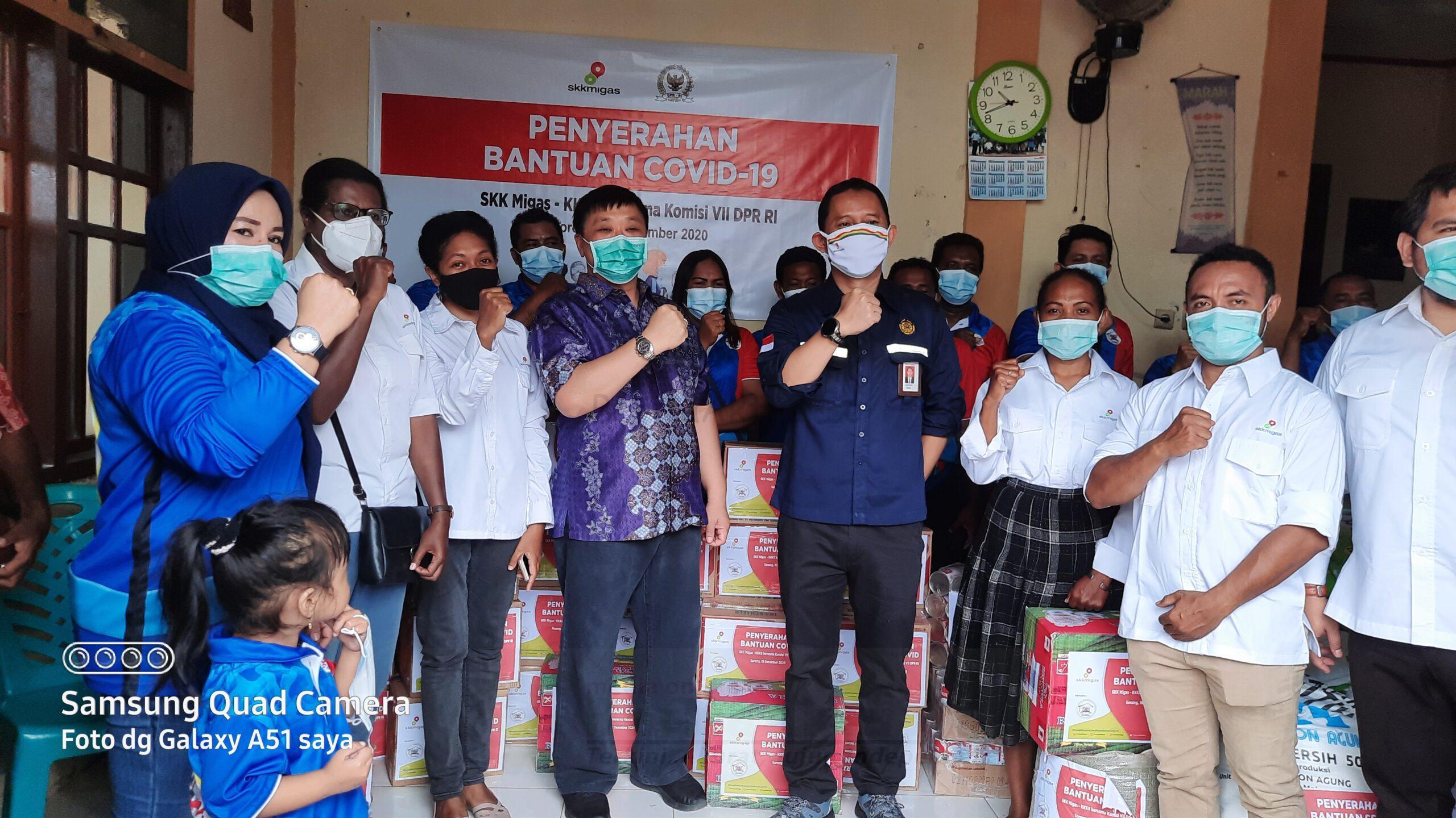 Rico Sia Bersama SKK Migas Serahkan Bantuan Sembako ke 6 Panti Asuhan di Sorong 2 20201216 104126 scaled
