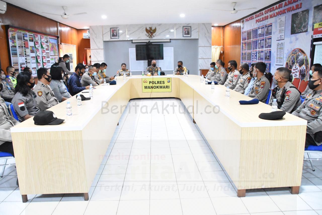 Tim Supervisi Mabes Polri Lakukan Peninjauan Kesiapan Pilkada di Papua Barat 3 IMG 20201211 WA0038