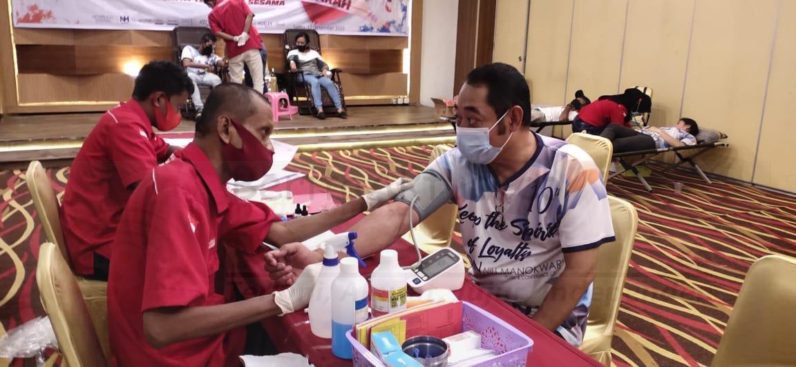Sambut HUT ke 11 Tahun Aston Niu Manokwari Gelar Donor Darah 1 IMG 20201212 WA0013