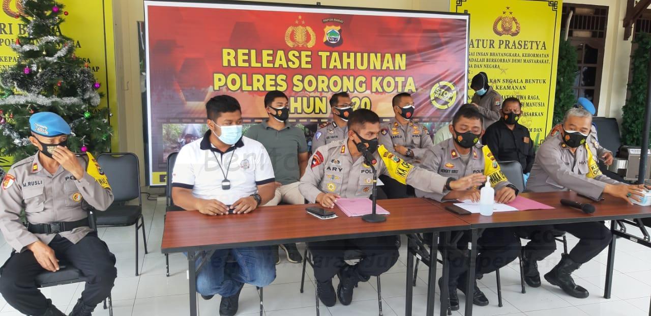 Angka Kriminal di Kota Sorong Tahun 2020 Menurun Dibanding 2019 1 IMG 20201230 WA0013