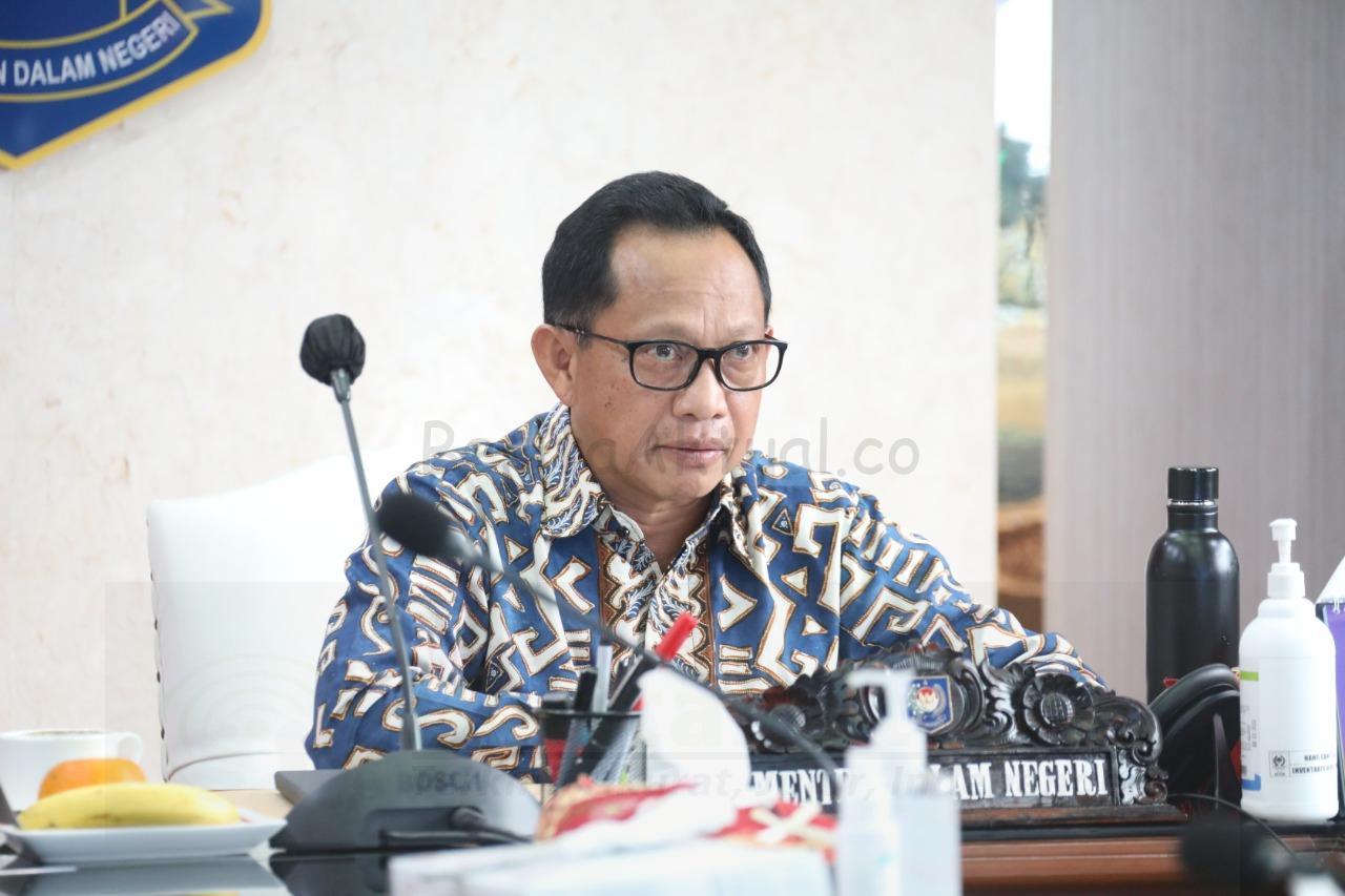 Mendagri Minta Keseriusan Pemda 2 Minggu Pembatasan Aktifitas Masyarakat di Jawa-Bali 1 IMG 20210108 WA0110
