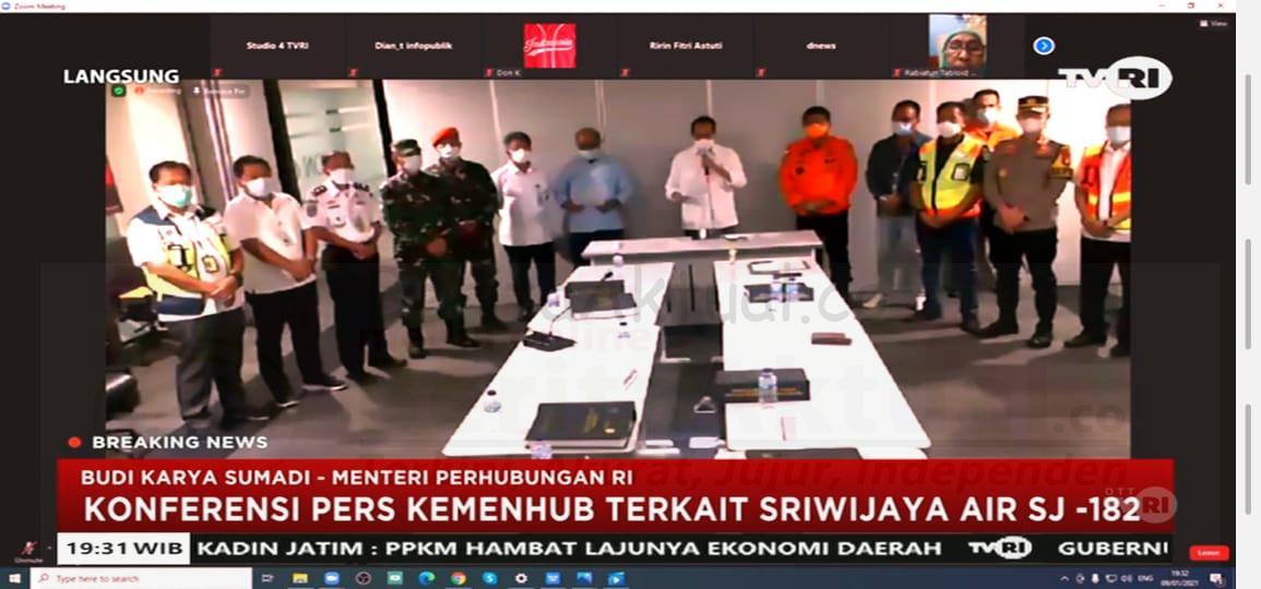 Basarnas Fokus Pencarian SJ 182 Menyisir di Pulau Lancang dan Pulau Laki 11 IMG 20210109 WA0117