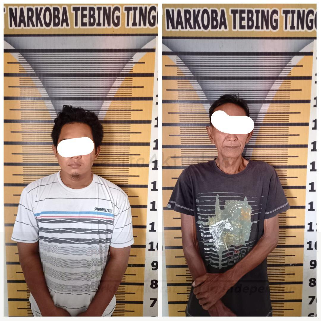 Miliki Sabu, 2 Pria Ini Ditangkap Satres Narkoba Polres Tebing Tinggi 4 IMG 20210124 WA0025