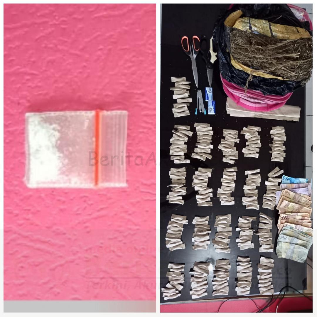 Miliki Sabu, 2 Pria Ini Ditangkap Satres Narkoba Polres Tebing Tinggi 4 IMG 20210124 WA0026
