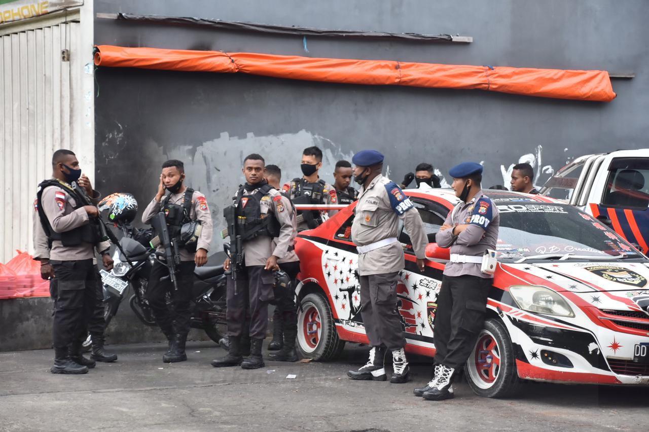 Empat Pleton Brimob dan Samapta, Diterjunkan Antisipasi Wacana Demo Rasis 7 IMG 20210126 WA0089