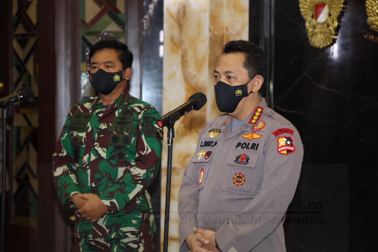 Tinggkatkan Sinergitas Dan Soliditas Kapolri Kunjungi Panglima TNI 3 IMG 20210131 WA0039
