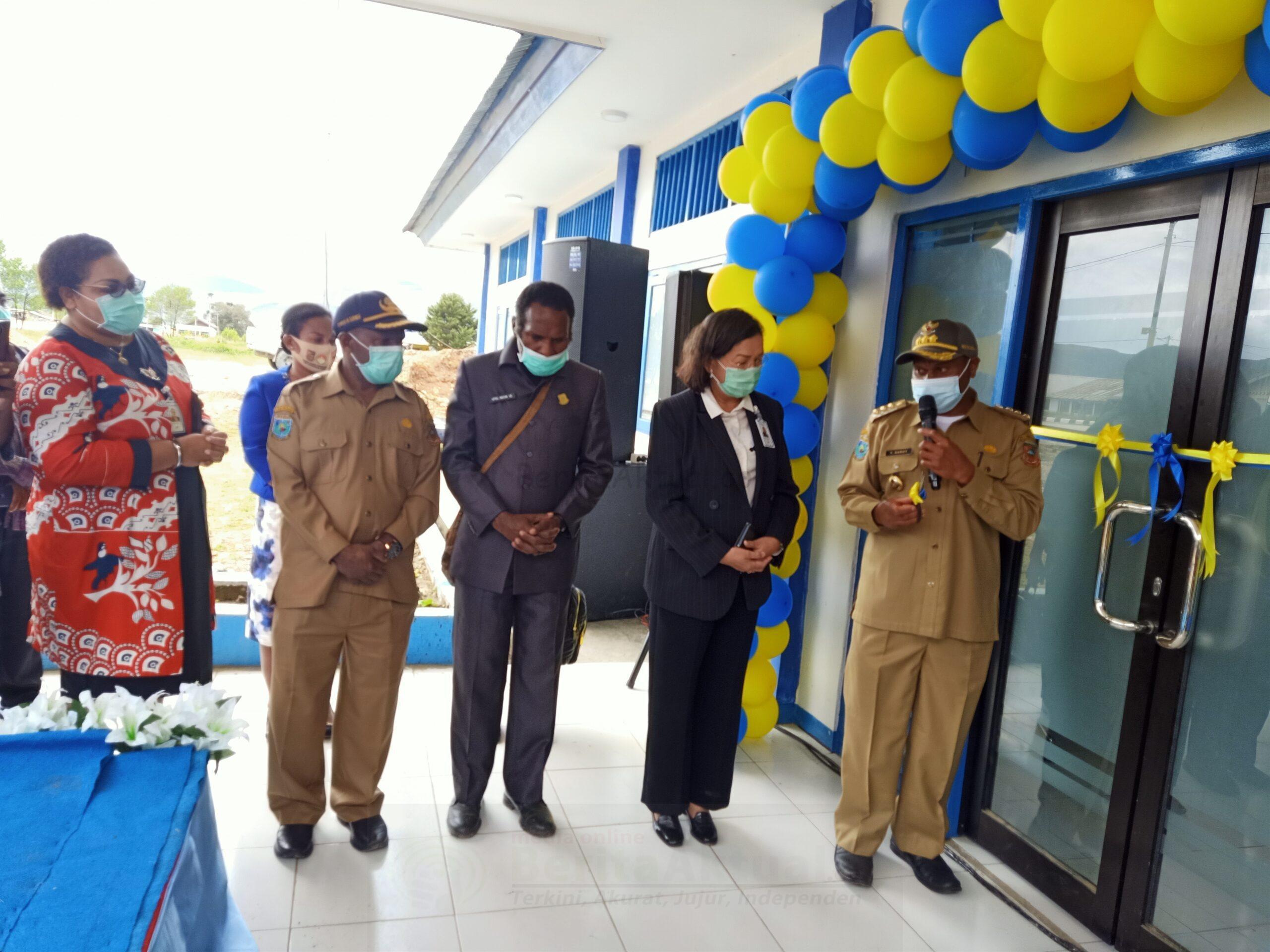 Kini Pegunungan Arfak, Sudah Ada Kantor Cabang Pembantu Bank Papua di Anggi 8 IMG20210112115642 scaled