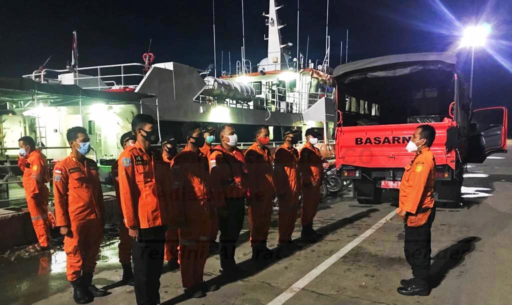 Basarnas Lampung Membantu Pencarian Jatuhnya Pesawat Sriwijaya SJ 182 10 IMG 20210110 103009