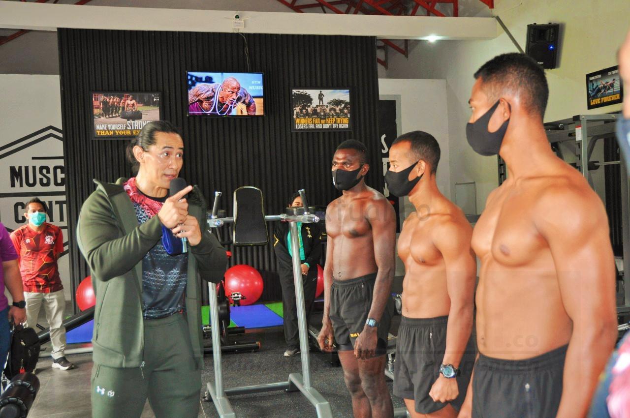 "Danpusdiklatpassus Resmikan Fitness Centre ""SFETC Gym"", Prajurit Profesional Memiliki Tubuh Ideal 16 IMG 20210116 162732"