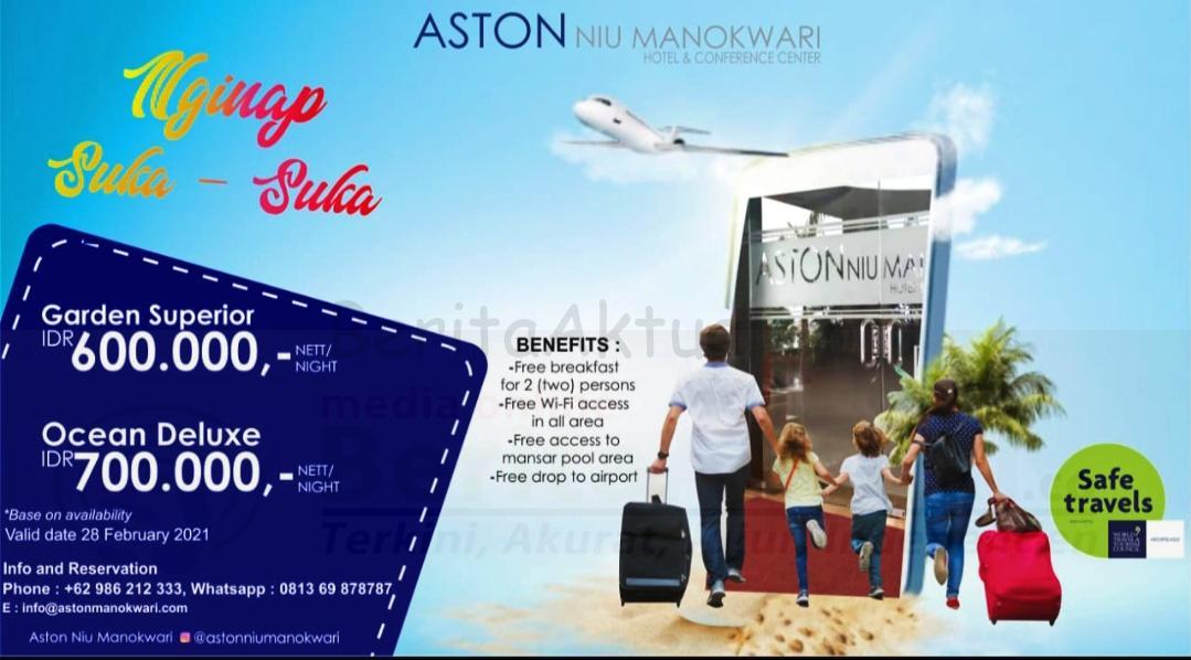 Promo Weekend Nginap Suka-Suka di Aston Niu Hotel Manokwari 1 IMG 20210119 200000