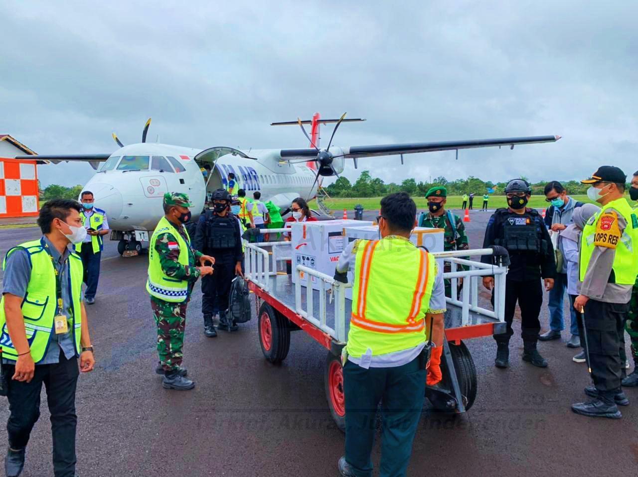 NAM Air Dipercayakan Mengantar Vaksin ke Berbagai Wilayah di Kalimantan Barat 1 IMG 20210129 000229