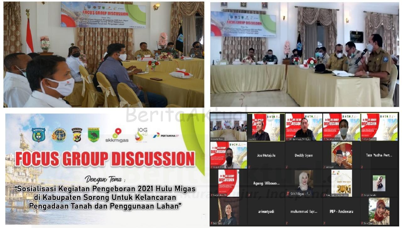 Pemda Kabupaten Sorong Beri Prioritas Kelancaran Rencana Pengeboran 7 Sumur Migas Tahun 2021 4 IMG 20210209 WA0007