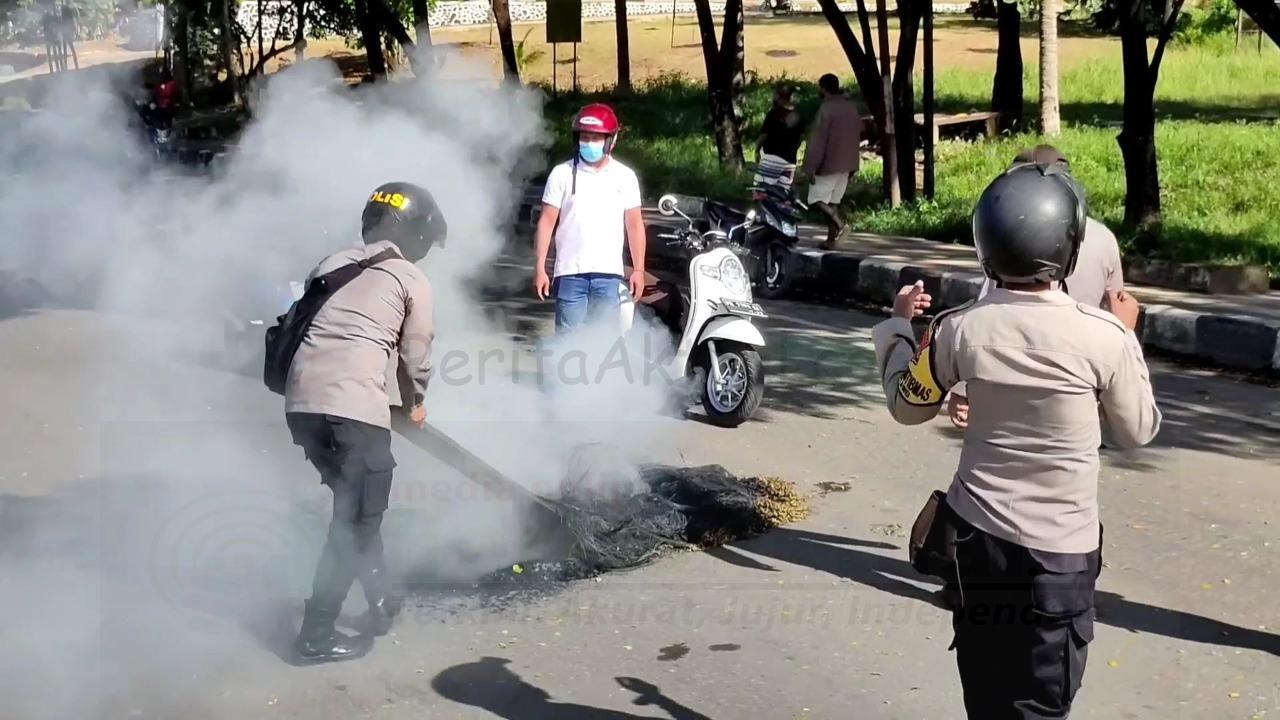 Polisi Buka Barikade Jalan Sepanjang Kawasan Sorpus Kota Sorong 1 IMG 20210223 WA0033