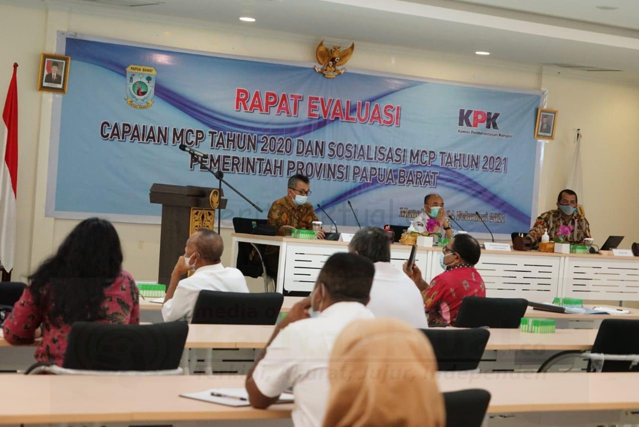 KPK Tagih Komitmen Pemprov Papua Barat Benahi Tata Kelola Manokwari 24 IMG 20210224 WA0035