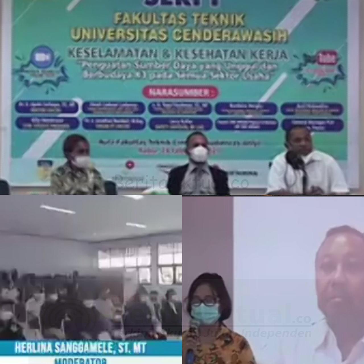 Industri Hulu Migas Wil Papua Maluku Dukung Pencanangan Bulan K3 Bersama Civitas Akademika Uncen 2 IMG 20210225 WA0000