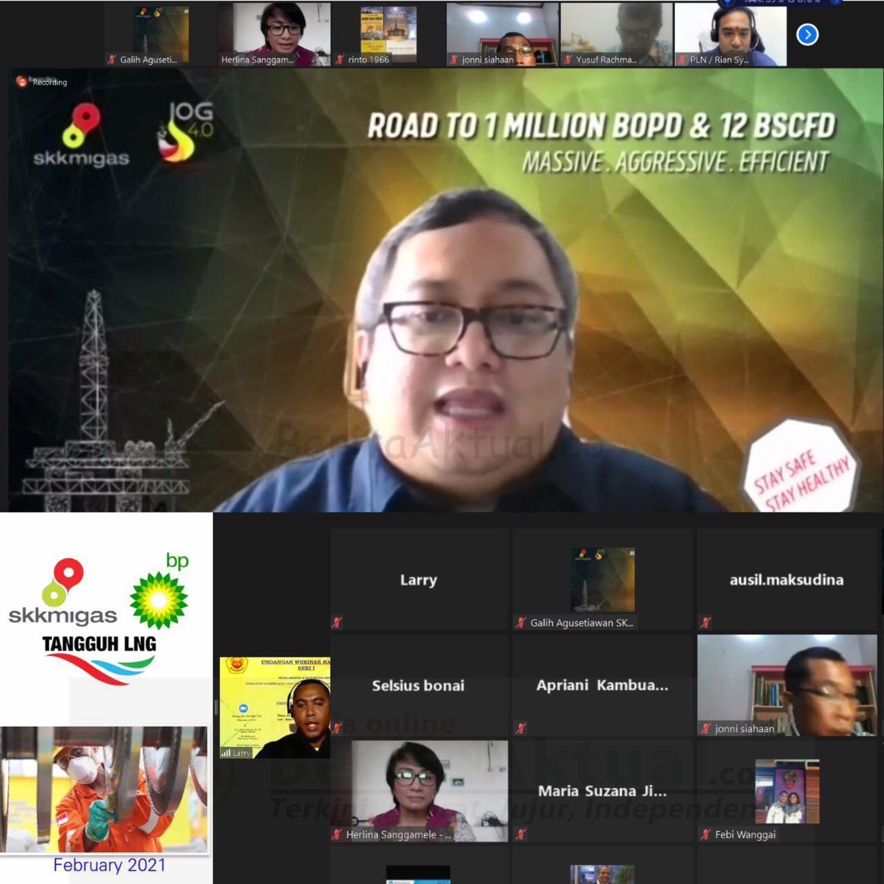 Industri Hulu Migas Wil Papua Maluku Dukung Pencanangan Bulan K3 Bersama Civitas Akademika Uncen 10 IMG 20210225 WA0001