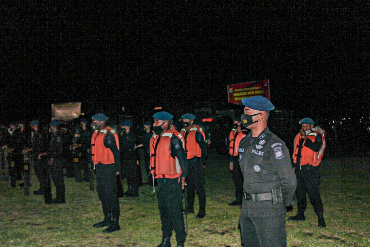 Brimob Polda Papua Barat Rutin Gelar Apel Kesiapsiagaan Gangguan Dari Kamtibmas 1 IMG 20210228 WA0101