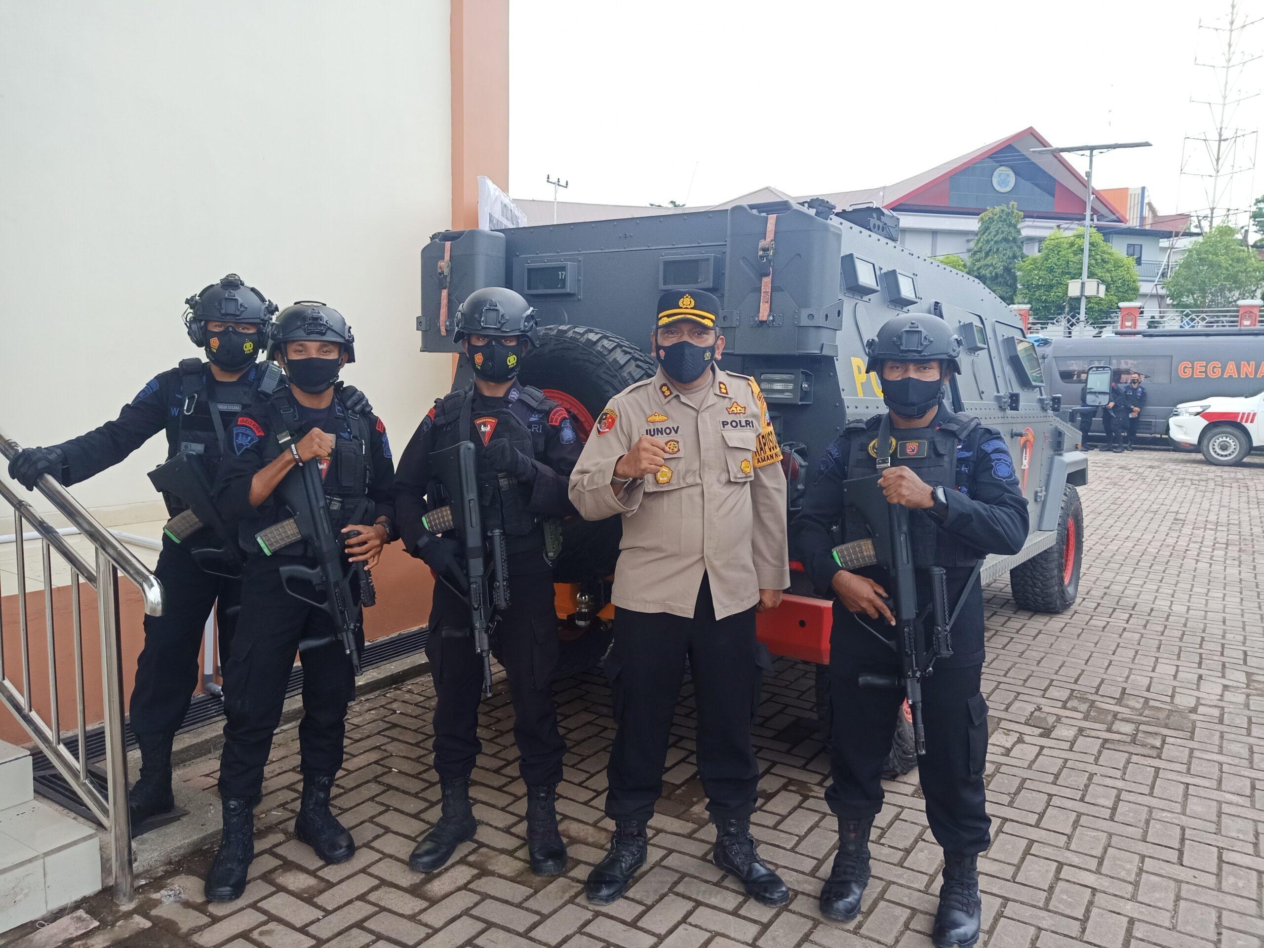 Polda Papua Barat Siapkan 432 Personel Amankan Pelantikan 4 Pasang Pemimpin Daerah 1 IMG20210226120722 scaled