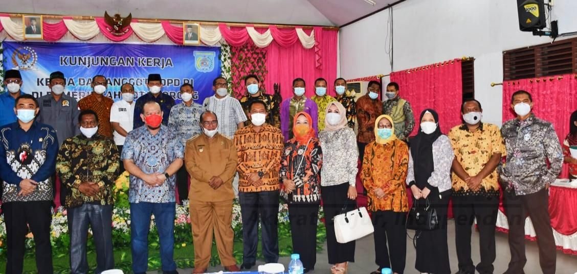 DPD RI Silahturahmi Bersama Forkompinda Kota Sorong 3 IMG 20210202 120308