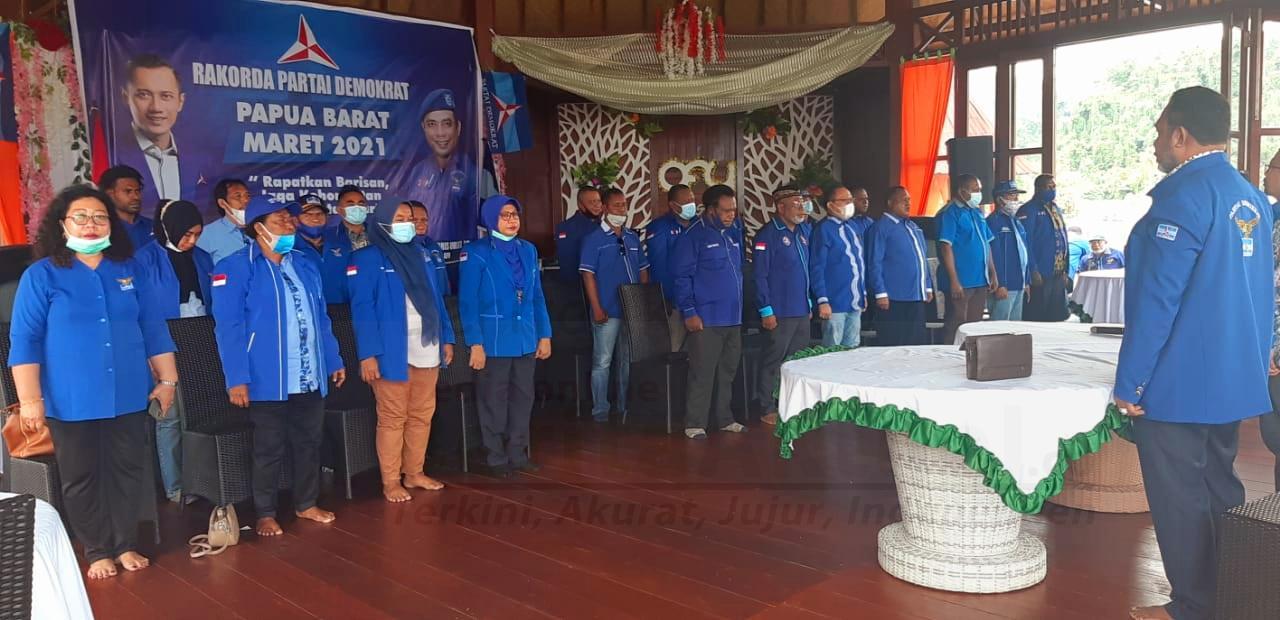 Tolak KLB Deli Serdang, DPD Partai Demokrat Papua Barat Pecat 4 Ketua DPC 4 IMG 20210309 WA0021