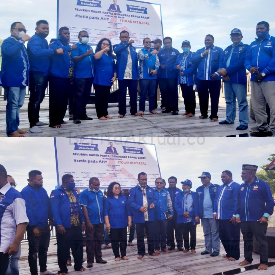 Tolak KLB Deli Serdang, DPD Partai Demokrat Papua Barat Pecat 4 Ketua DPC 4 IMG 20210309 1