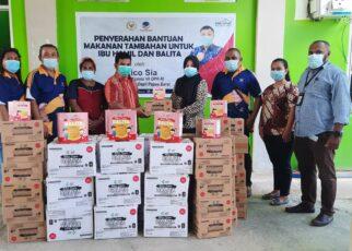 Rico Sia Salurkan Makanan Tambahan Untuk Ibu Hamil Dan Balita ke Empat Puskesmas Kota Sorong 15 20210422 120216