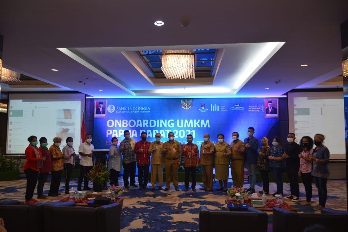 Dorong Transaksi Digital Dimasa Pandemi, BI Gelar Onboarding UMKM Papua Barat 3 IMG 20210407 WA0060